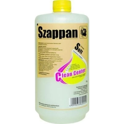 CleanCenter Soft cream folyekony szappan 1l 1