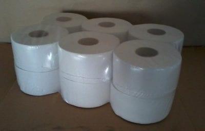 WC papír, MINI, 2 rétegű, 100% cell., ragasztott, PRÉMIUM 12 tek/cs 1