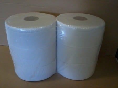 WC papír, MIDI, 2 rétegű, reciklált, ragasztott, PRÉMIUM, 6 tek/cs 1