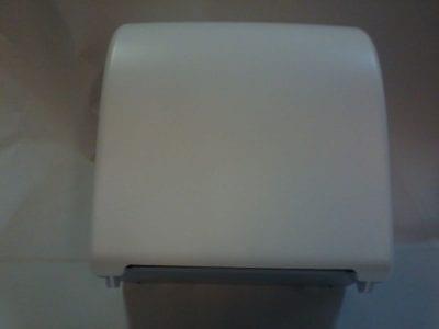 Hengeres kéztörlő adagoló, fehér, MATIC papírhoz 1