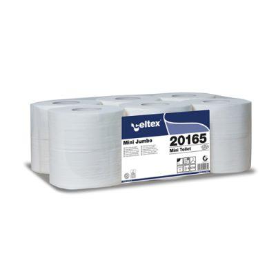 Celtex 20.165 WC papír, MINI, 2 rétegű, 100% puracell.160 méter, d19, 12 tek/cs 1