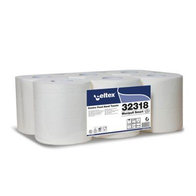 Celtex 32.318 Kéztörlő, MAXI, Center Maxi Tissue, 2 rétegű, 100% cell., belsőmag ad., 6tek/cs 1
