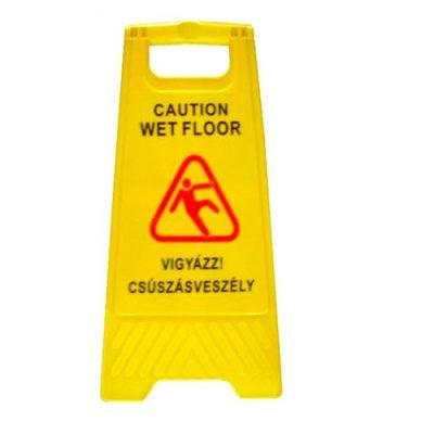 RS nedves padlo figyelmezteto tabla 1