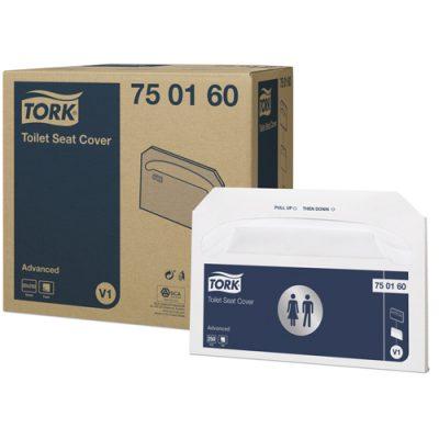 TORK Advanced ülőketakaró, 250 lap/csomag, 20 csomag/karton 1